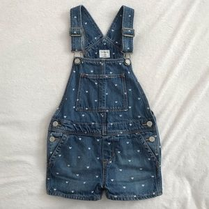 BabyGap Denim Shortalls-size 5